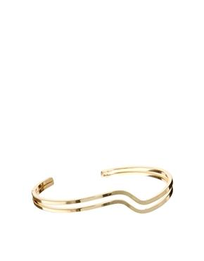 ASOS | ASOS Double Swirl Cuff Bracelet at ASOS