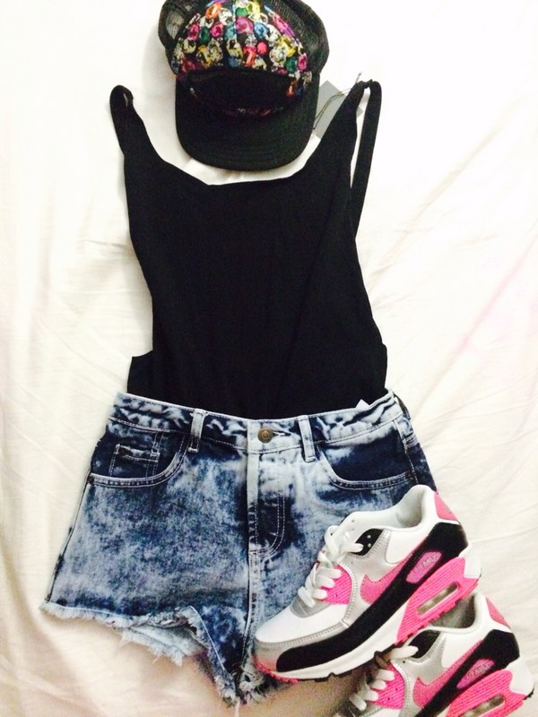 shorts short top vans air max nike shirt shoes hat