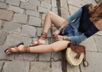 my daily style blogger top shorts shoes bag