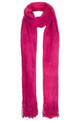Super Fluffy Scarf - Scarves  - Bags & Accessories  - Topshop