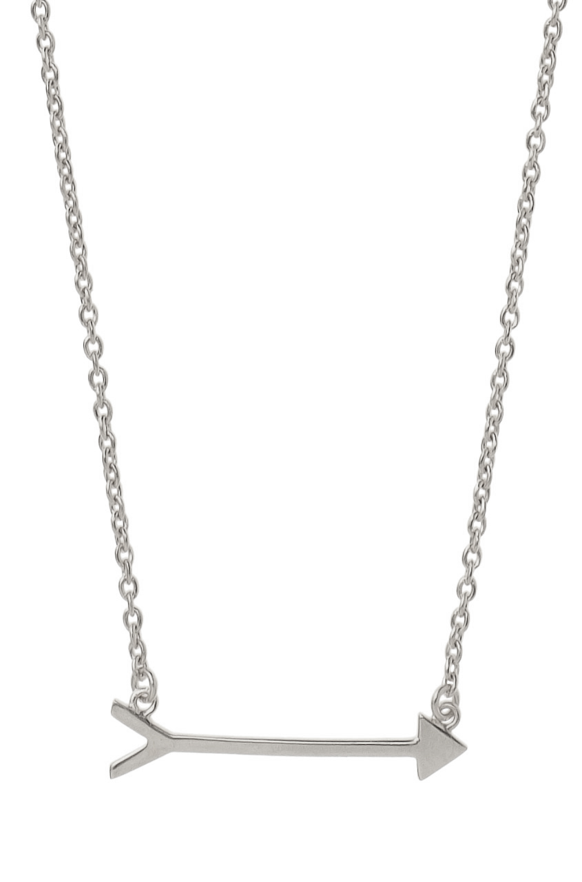 Sterling Silver Arrow Necklace   On the Mark Necklace   Stella & Dot