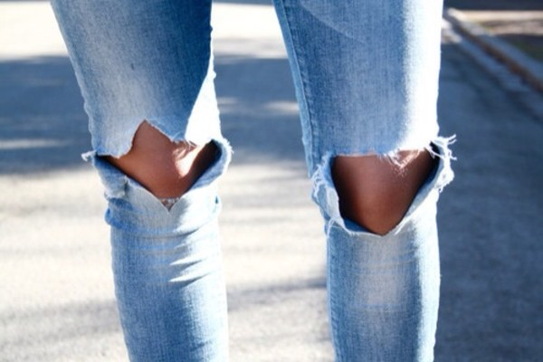jeans blue jeans pants with hole hole jeans with hole