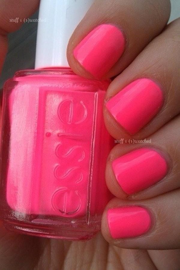 nail polish pink