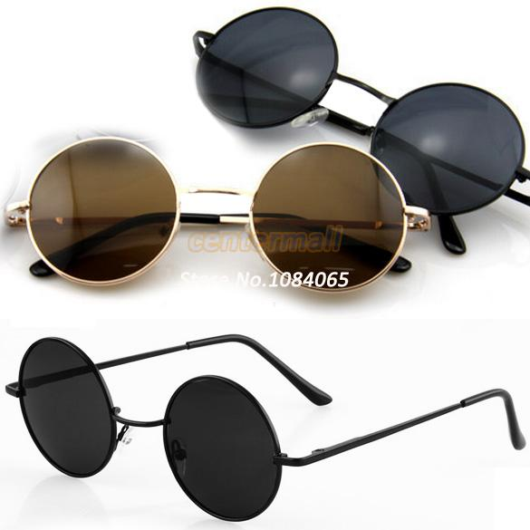 New Designer Unisex Vintage Tortoise Frame Lens Retro Round Sunglasses Eyeglasses Glasses 5461-in Sunglasses from Apparel & Accessories on Aliexpress.com