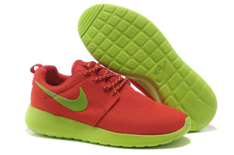 Nike Roshe Run Damen/Herren Sale,Pink & Schwarz Roshe Run Schuhe Günstig Online Kaufen