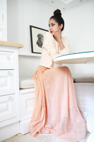 denni chic muse maxi pink dress dress