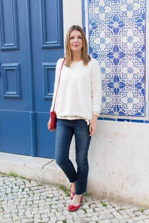 Pull Allistair Bash Blanc   Blog Mode - The Working Girl