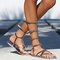 Free people vegan noveau mid gladiator sandals