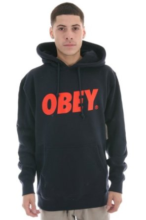 Amazon.com: Obey Font Hoodie: Clothing