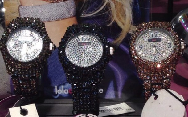 jewels watch bling cystals