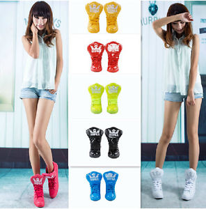 Korean Style New Fashion Women's Candy Color Casual Shoes Hip Hop Sneakers | eBay