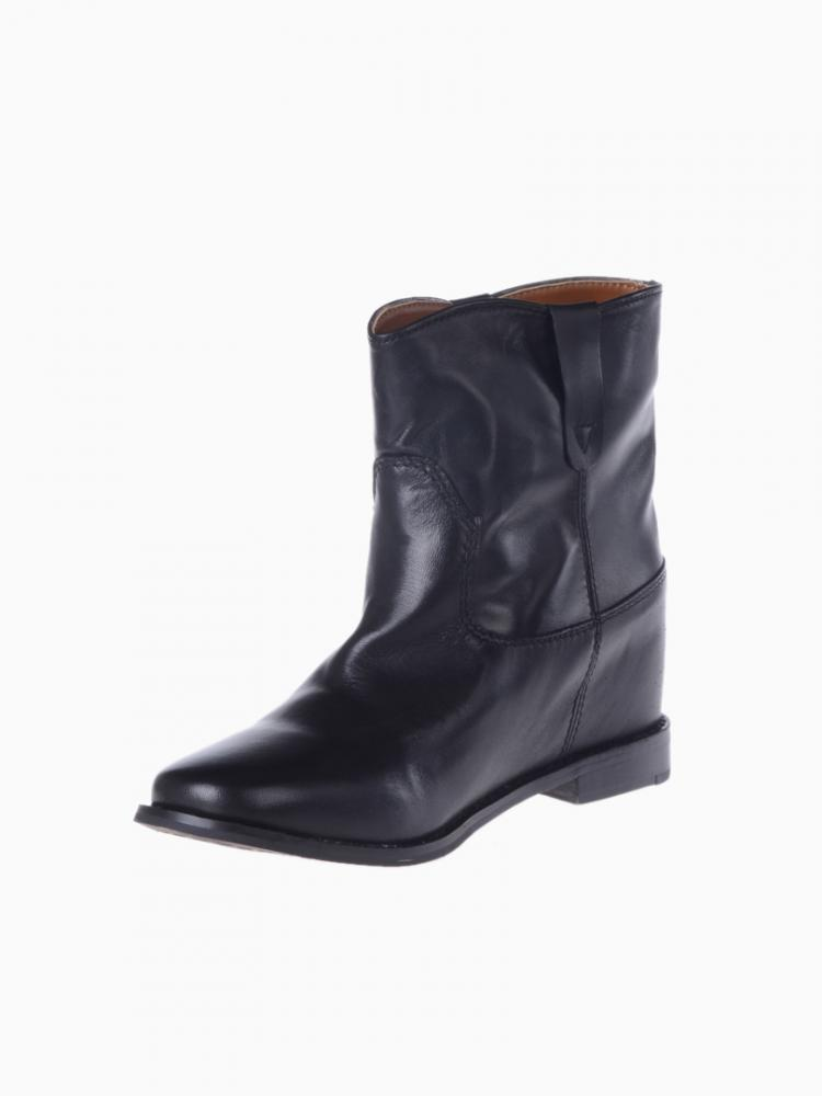 Leather Look Anckle Boots | Choies