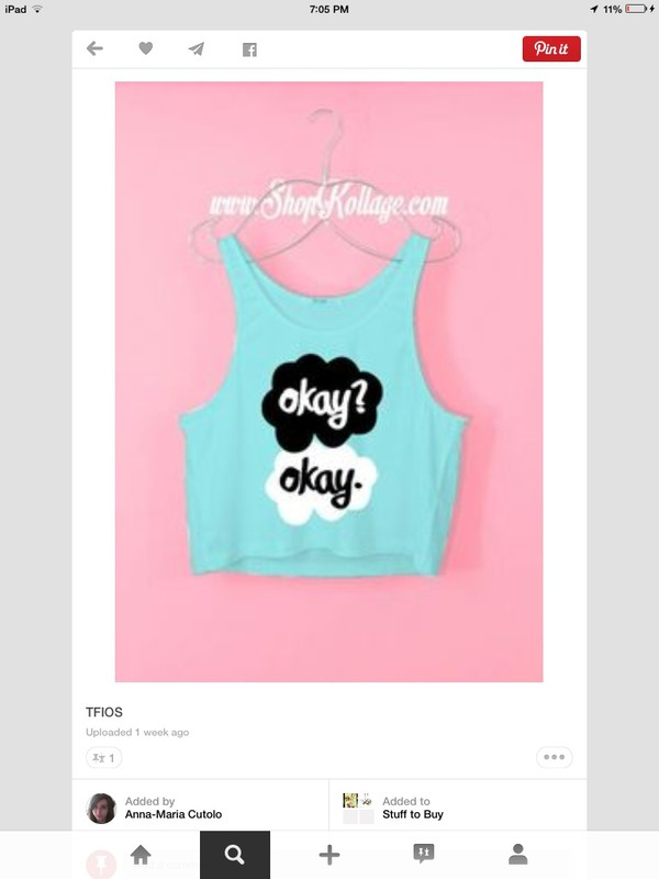 the fault in our stars shirt