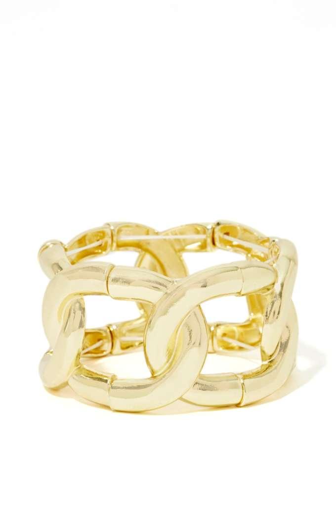Chain Rule Bracelet at Nasty Gal
