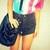 The 'Basic Black' Shorts - Nerdy Youth