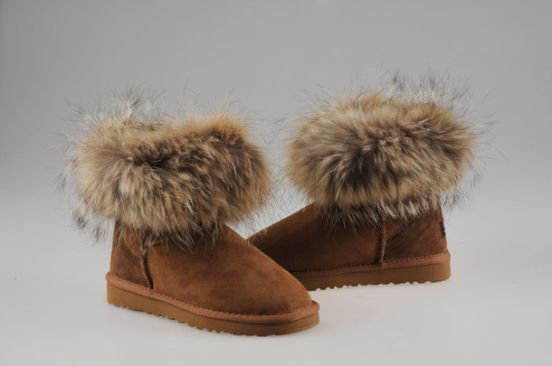 ugg boots fur shoes