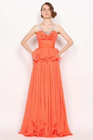 Draped Pear Fall Long Apple Rectangle Chiffon Winter Inverted Triangle Sheer Back Prom/ Evening Dress