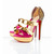Christian Louboutin Ambertina 150mm Specchio Sandals Red Sole Shoes