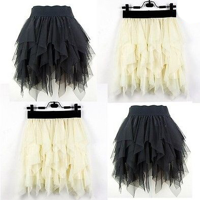 1pcs/lot 2014 New Vogue Mini Skirts Lolita Lace Mesh Layered Tutu EuropeStyle Skirt Petticoat Fit Spring/Summer Wear 654645-in Skirts from Apparel & Accessories on Aliexpress.com