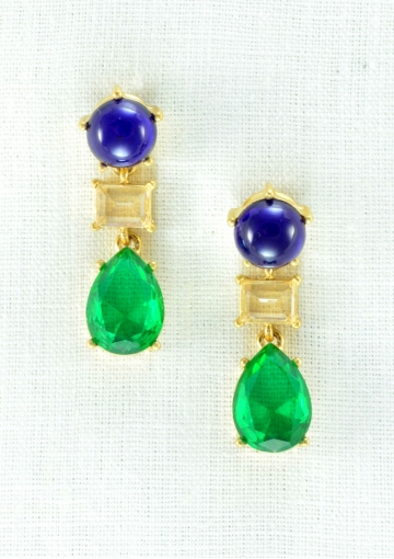 Favorite Colors Drop Earrings - Happiness Boutique
