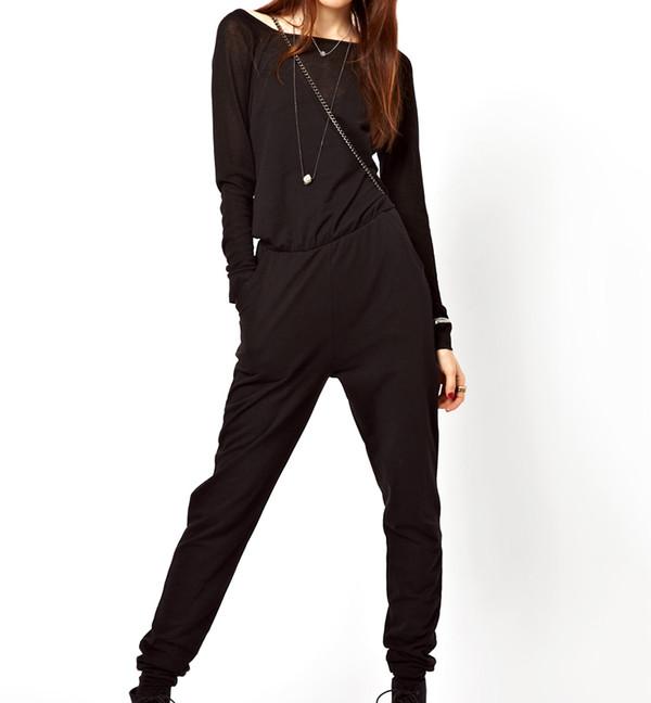 jumpsuit black streetstyle fashion swag