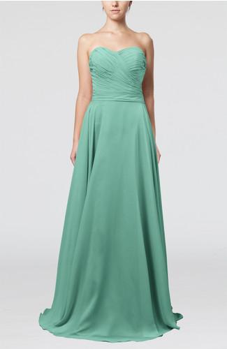 Mint Green Modest Prom Dress Unique Backless Pretty for Less Plus Size Fashion - 9dresses.com