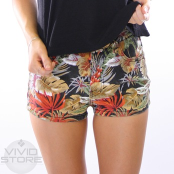 Buy Vivid Minkpink Copacabana Waisted Shorts in Multi - Westfield