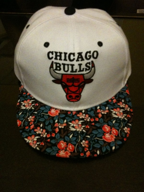 hat floral hat snapback snapback snapback floral chicago bulls chicago bulls cap bull snapback streetstyle dope