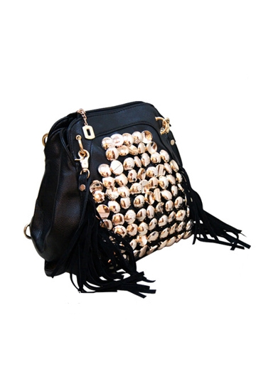 Punk Button Tassels Backpack [FPB438]- US$35.99 - PersunMall.com