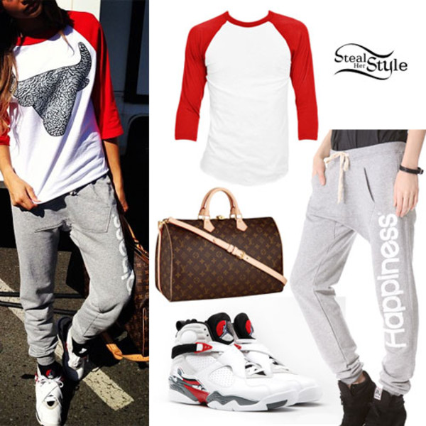 pants basketball tee sweatpants grey sweatpants t-shirt air jordan jordans zendaya basketball t-shirt shirt top shoes