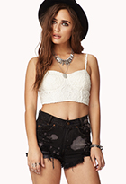 Crochet Lace Bustier | FOREVER21 - 2073801174
