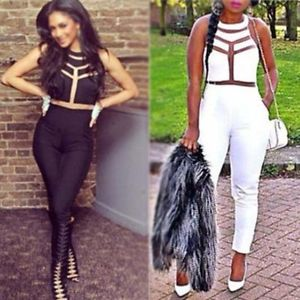 New Sexy Womens Ladies Gauze Outfits Bodycon Jumpsuit Romper Trousers Clubwear | eBay