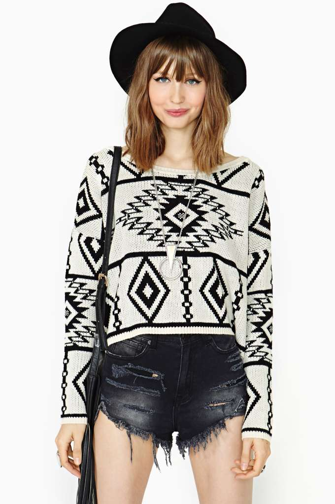 Desert Dusk Knit | Shop Sweaters at Nasty Gal
