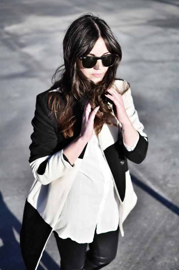 views by laura coat shoes pants sunglasses