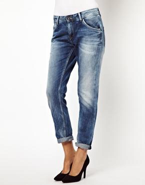 Pepe Jeans | Pepe Jeans London Liberal Slim Boyfriend Jeans at ASOS