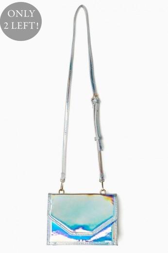 Holographic Bag- Crossbody - $58