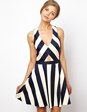 ASOS | ASOS Stripe Skater Dress at ASOS