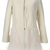 ROMWE | Panel Faux Furry White Coat, The Latest Street Fashion