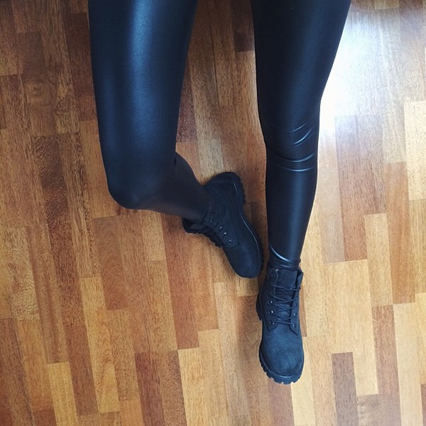 pants leather leggings black leggings leather leggings black timberlands shoes