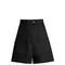 Trey high-waisted cotton shorts