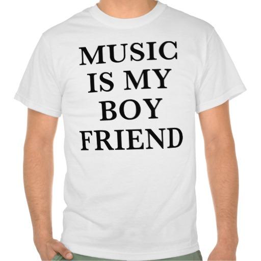 music boyfriend tee shirts | Zazzle.co.uk