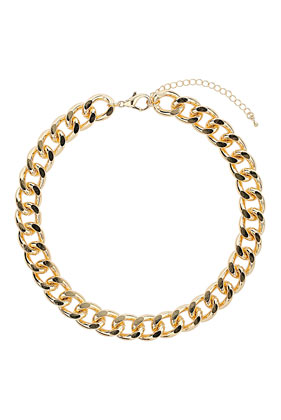 Thick Chunky Chain Collar - Topshop