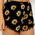 Sunflower Shorts - Black | Clothes | Peppermayo
