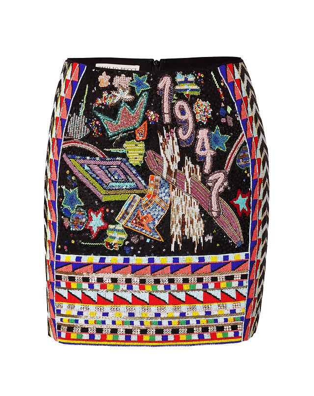 BeadedMini-SkirtfromEMILIOPUCCI   Luxury fashion online   STYLEBOP.com
