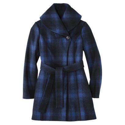 Merona® Women's Shawl Collar Coat -Athens Blue : Target