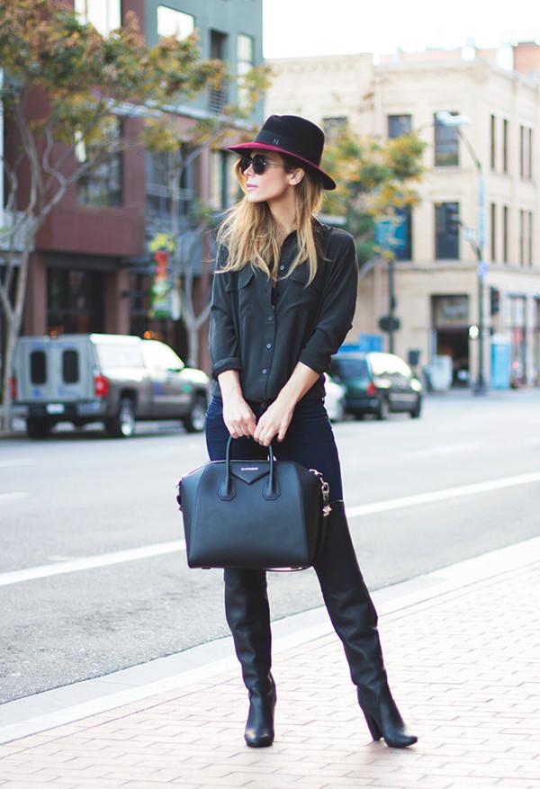 blouse bag shoes