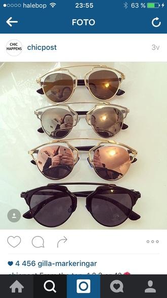 sunglasses silver gold fashion black rose gold mirrored sunglasses round sunglasses sunnies black sunglasses retro sunglasses accessories accessory trendy