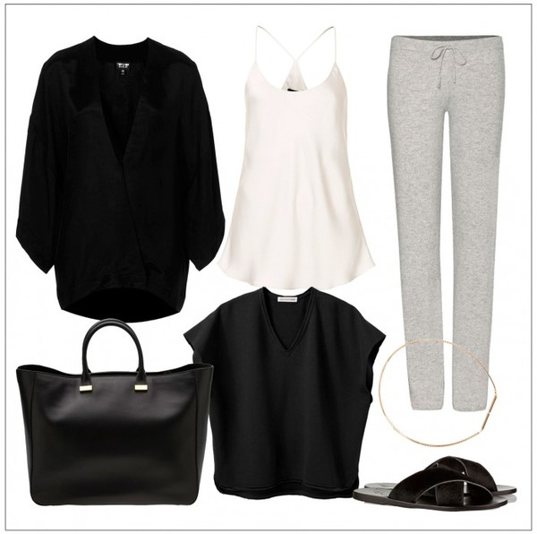 style by kling pants bag tank top jewels jacket shoes sweater