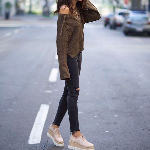 Platform Shoes Outfits Tumblr | Best Dresses 2019
