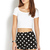 Mod Dots Denim Shorts | FOREVER21 - 2000109736